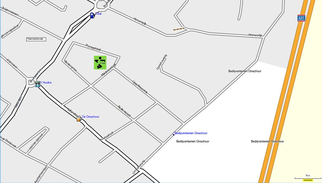locatie Meidoornstraat